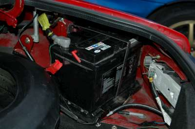Battery Mod on Car Battery In Mazda 5 Location